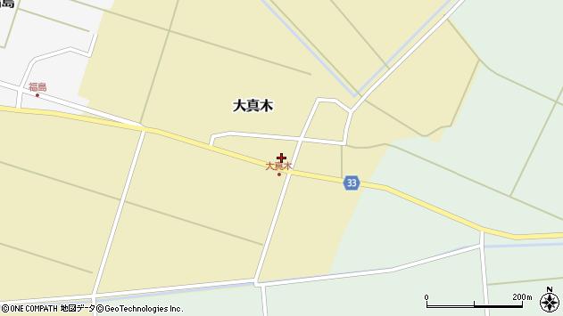 山形県東田川郡庄内町大真木中屋敷16周辺の地図