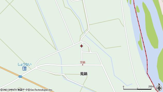 山形県東田川郡庄内町狩川荒鍋99周辺の地図