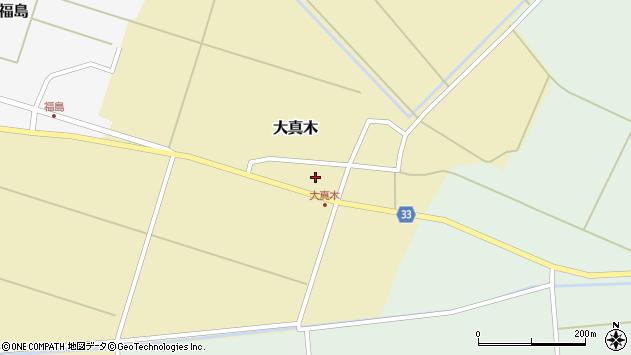 山形県東田川郡庄内町大真木中屋敷17周辺の地図