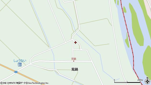 山形県東田川郡庄内町狩川荒鍋100周辺の地図