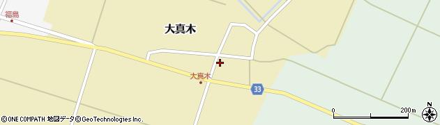 山形県東田川郡庄内町大真木中屋敷5周辺の地図