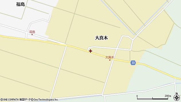 山形県東田川郡庄内町大真木中屋敷21周辺の地図