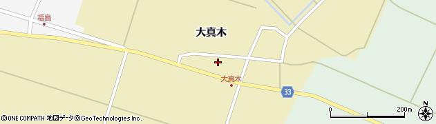 山形県東田川郡庄内町大真木中屋敷18周辺の地図