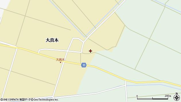山形県東田川郡庄内町大真木中屋敷92周辺の地図