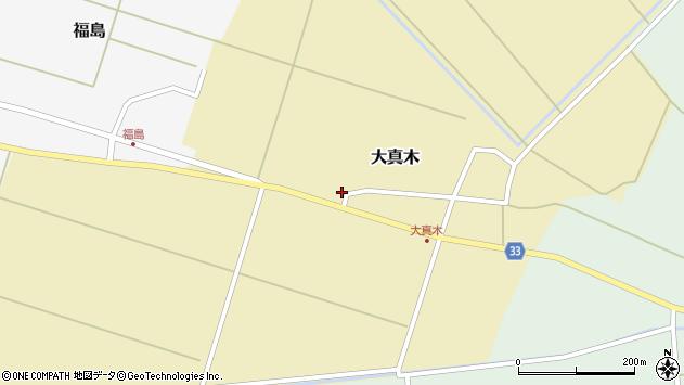 山形県東田川郡庄内町大真木西フケ17周辺の地図