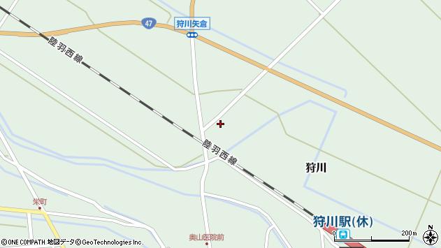 山形県東田川郡庄内町狩川砂田割37周辺の地図