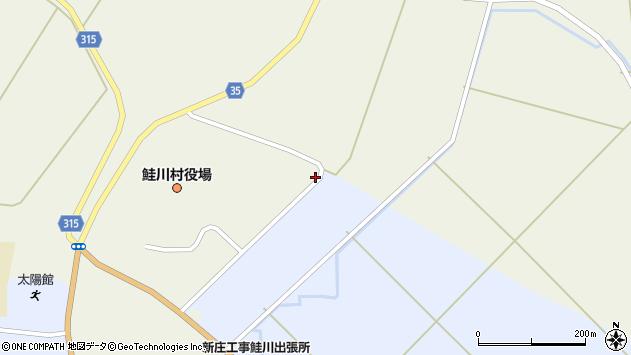 山形県最上郡鮭川村佐渡3171周辺の地図