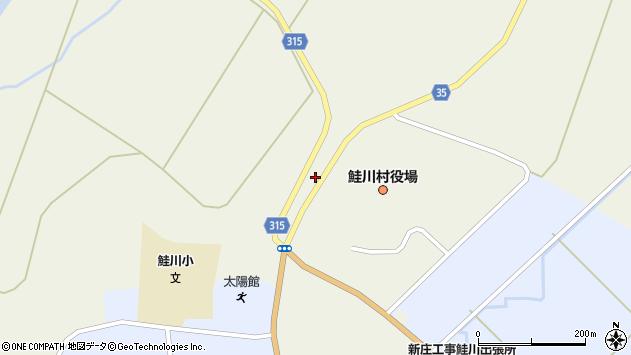 山形県最上郡鮭川村佐渡2157周辺の地図