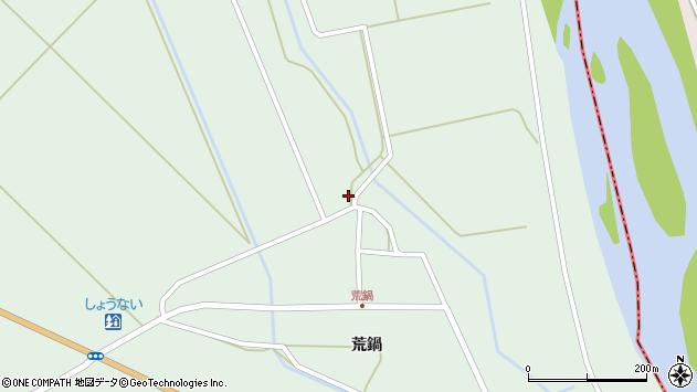 山形県東田川郡庄内町狩川荒鍋157周辺の地図