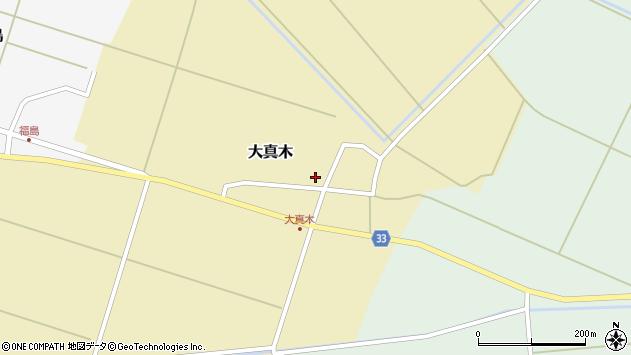山形県東田川郡庄内町大真木中屋敷59周辺の地図
