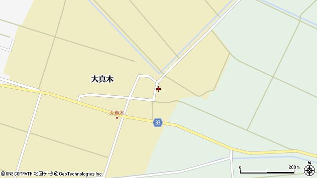山形県東田川郡庄内町大真木中屋敷80周辺の地図
