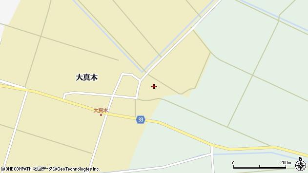 山形県東田川郡庄内町大真木中屋敷93周辺の地図