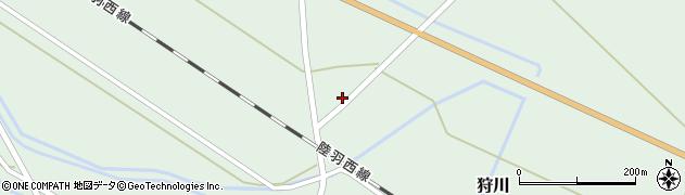 山形県東田川郡庄内町狩川萱積場11周辺の地図