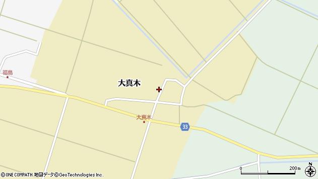 山形県東田川郡庄内町大真木中屋敷60周辺の地図