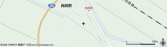 山形県東田川郡庄内町狩川西興野14周辺の地図