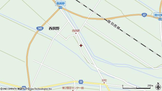 山形県東田川郡庄内町狩川薬師堂西155周辺の地図