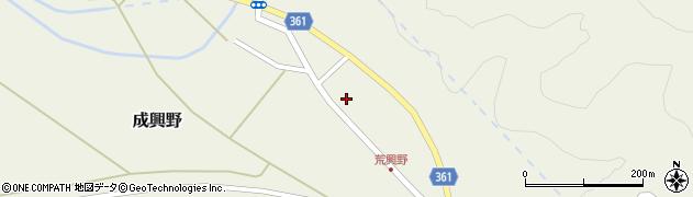 山形県酒田市成興野上堰内78周辺の地図