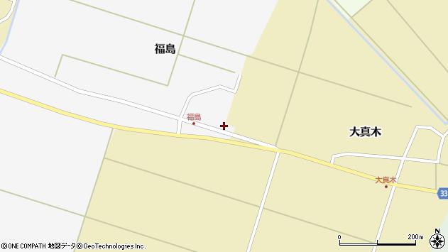 山形県東田川郡庄内町福島東大坪19周辺の地図