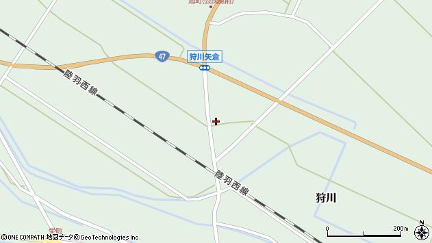 山形県東田川郡庄内町狩川矢倉190周辺の地図