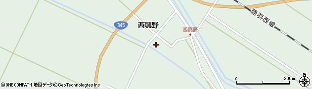 山形県東田川郡庄内町狩川西興野31周辺の地図