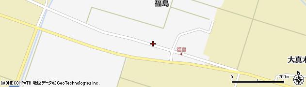 山形県東田川郡庄内町福島東大坪21周辺の地図