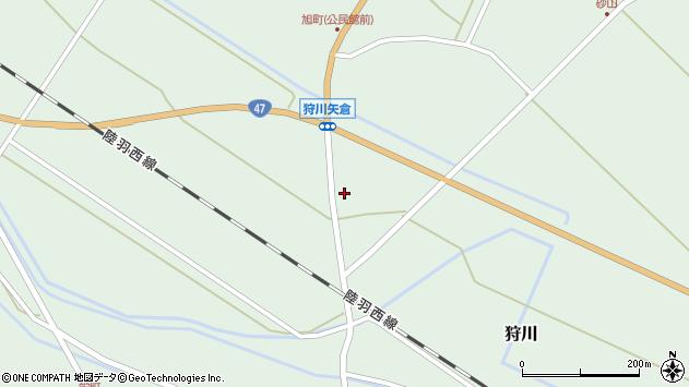 山形県東田川郡庄内町狩川矢倉131周辺の地図