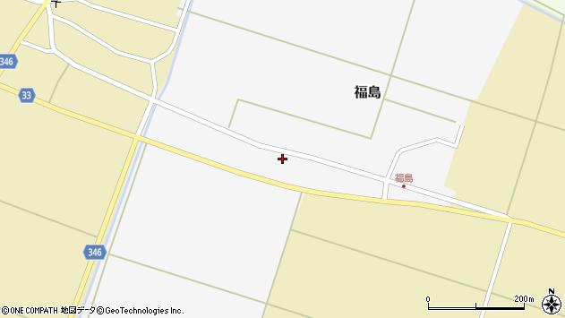 山形県東田川郡庄内町福島東大坪31周辺の地図