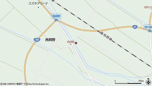 山形県東田川郡庄内町狩川新田14周辺の地図