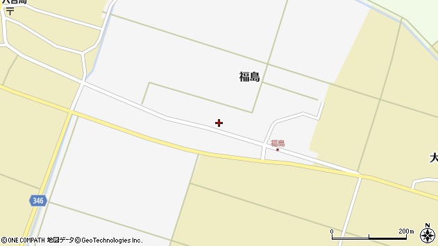山形県東田川郡庄内町福島西田20周辺の地図