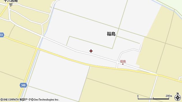山形県東田川郡庄内町福島西田24周辺の地図