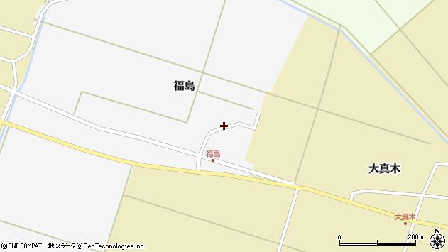 山形県東田川郡庄内町福島北フケ14周辺の地図