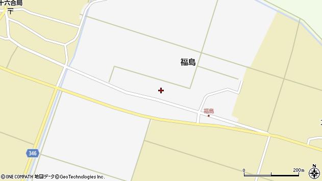 山形県東田川郡庄内町福島西田23周辺の地図