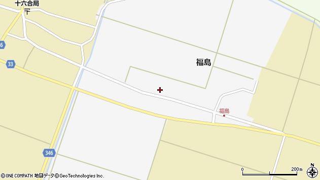 山形県東田川郡庄内町福島西田周辺の地図