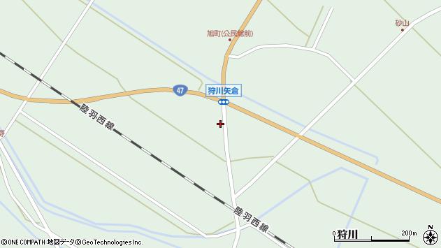 山形県東田川郡庄内町狩川古田1周辺の地図