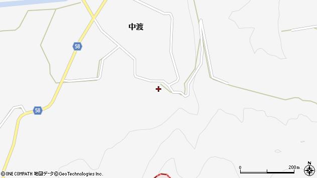 山形県最上郡鮭川村中渡264周辺の地図