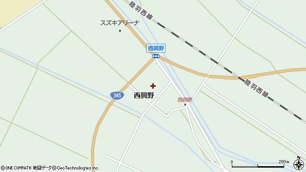 山形県東田川郡庄内町狩川西興野36周辺の地図