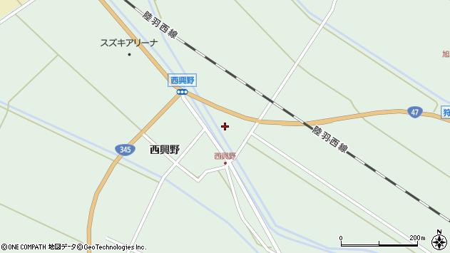 山形県東田川郡庄内町狩川下台22周辺の地図