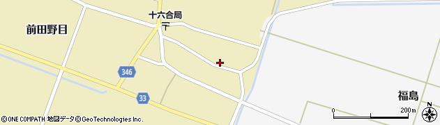 山形県東田川郡庄内町前田野目前割8周辺の地図