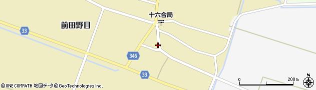 山形県東田川郡庄内町前田野目前割75周辺の地図