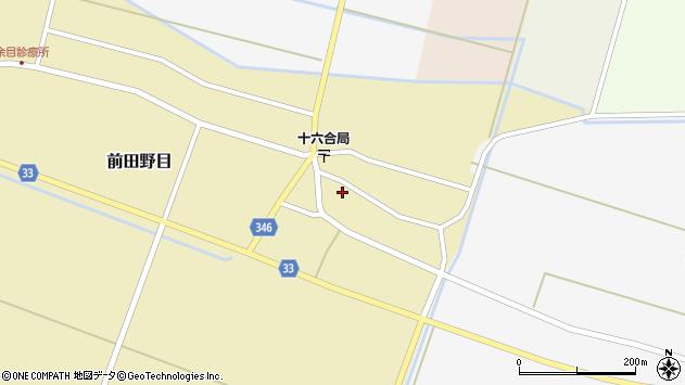 山形県東田川郡庄内町前田野目前割28周辺の地図