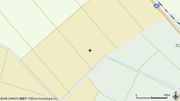 山形県東田川郡庄内町大真木北田周辺の地図