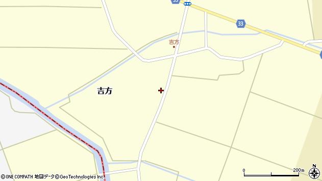 山形県東田川郡庄内町吉方稗田15周辺の地図