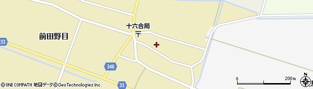 山形県東田川郡庄内町前田野目前割26周辺の地図