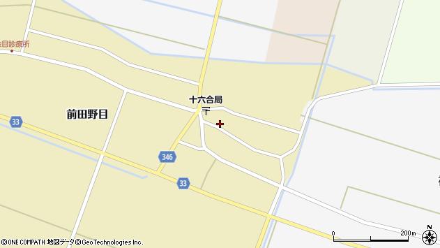 山形県東田川郡庄内町前田野目前割29周辺の地図