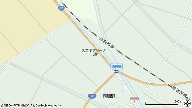 山形県東田川郡庄内町狩川水除周辺の地図