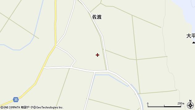 山形県最上郡鮭川村佐渡佐渡周辺の地図