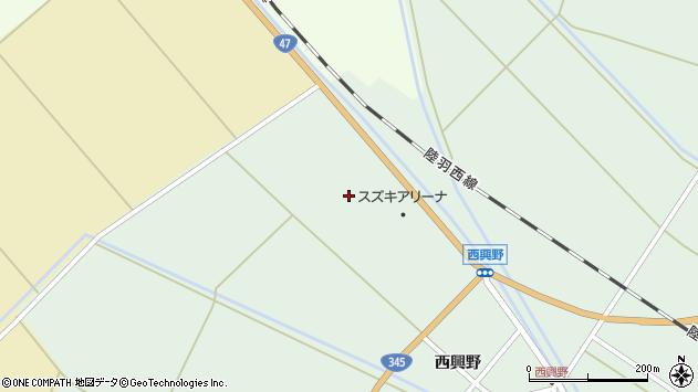 山形県東田川郡庄内町狩川早稲田周辺の地図