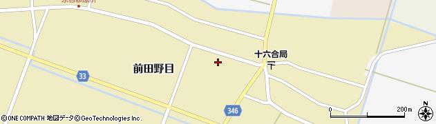 山形県東田川郡庄内町前田野目前割84周辺の地図