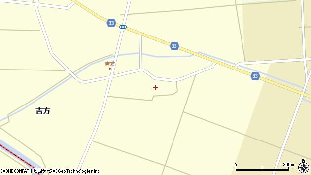 山形県東田川郡庄内町吉方主計田22周辺の地図