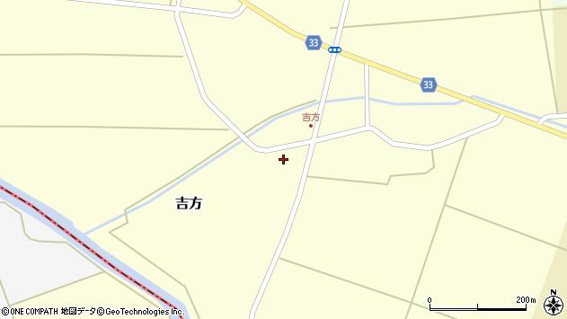 山形県東田川郡庄内町吉方稗田62周辺の地図